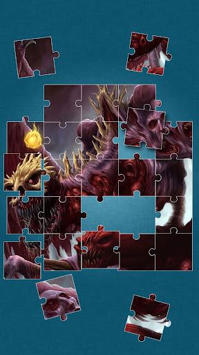 悪魔 ジグソーパズル - 悪魔の ゲーム
