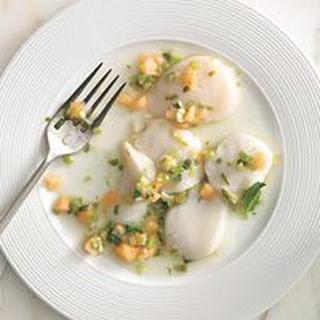 Scallop-and-Cantaloupe Ceviche