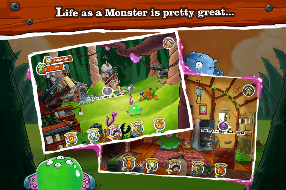 Monster Loves You! - screenshot