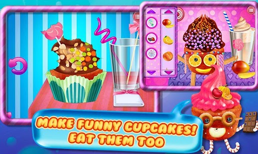 Cupcake Maker Crazy Chef- screenshot thumbnail