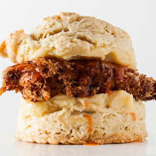 Fried Chicken Biscuits.