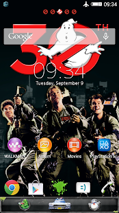 XPERIA™ Ghostbusters theme - screenshot thumbnail