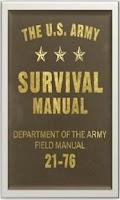 Screenshot of Army Survival Manual