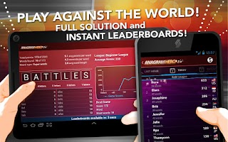 Screenshot of Anagram Hero: Best word puzzle