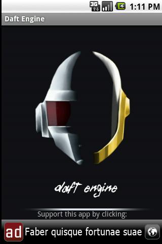Daft Engine (with Backingbeat) - screenshot