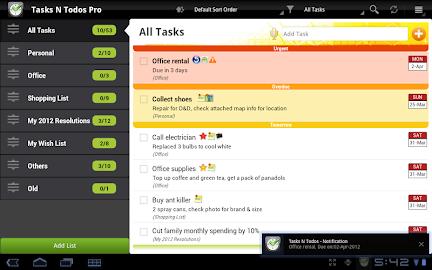 Tasks N ToDos Pro - To Do List Screenshot 15