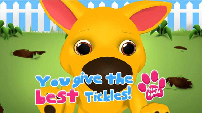 Tickle Critters Lite - screenshot