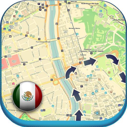 旅遊App|メキシコオフライン地図&天気 LOGO-3C達人阿輝的APP