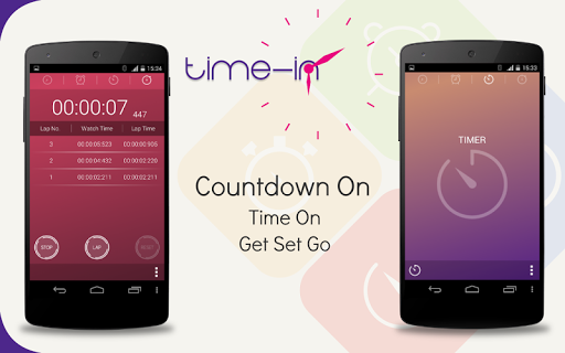 TimeIn- MultiTimer Alarm Clock