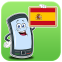 Spanish applications icon