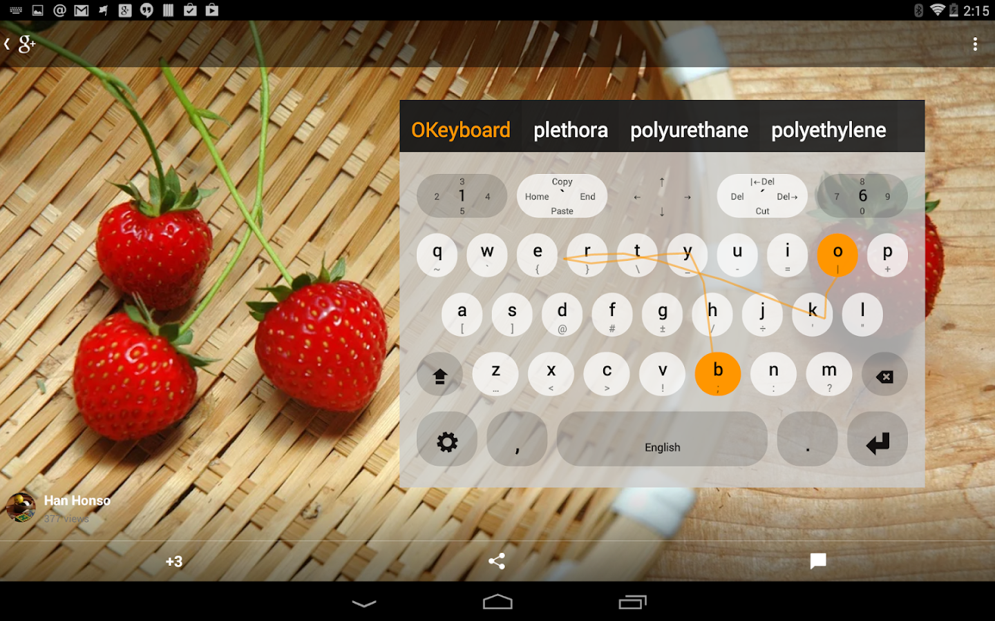 Multiling O Keyboard + emoji - screenshot