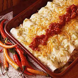 Beef or Chicken Enchiladas.