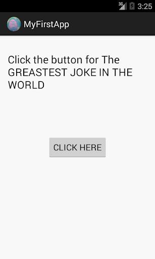 The Greatest Joke In The World