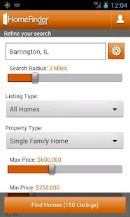 HomeFinder.com Real Estate - screenshot thumbnail