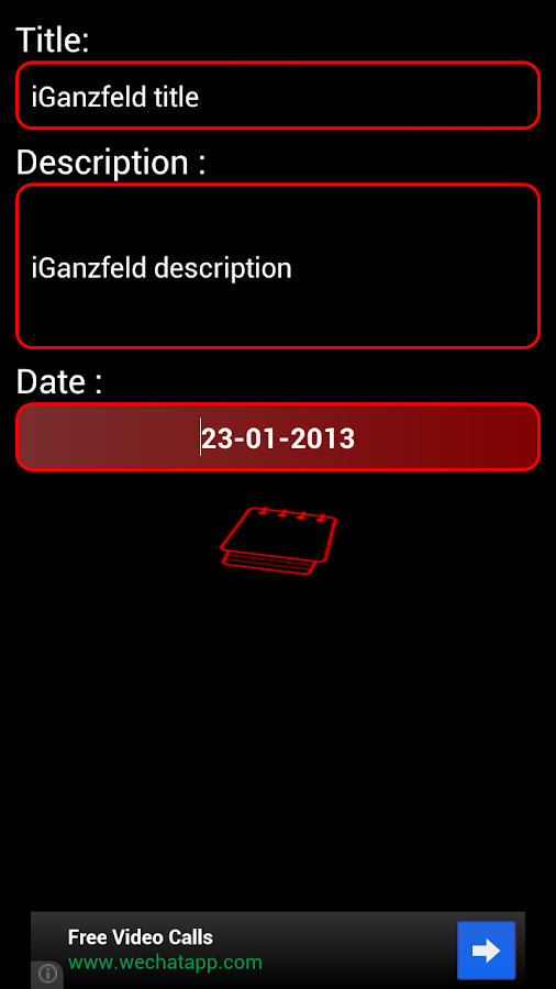 iGanzfeld- screenshot