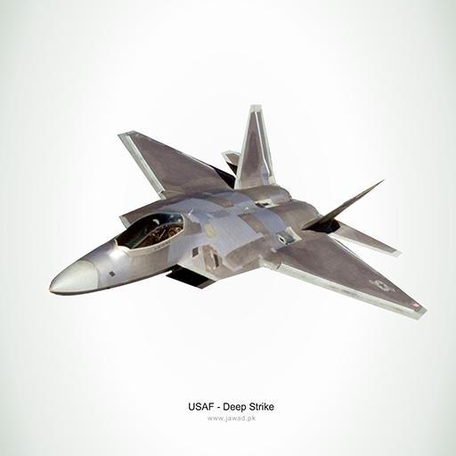 USAF - Deep Strike LOGO-APP點子