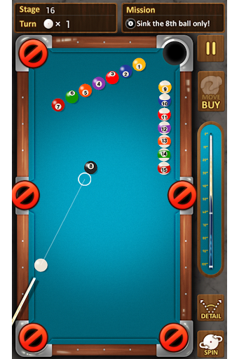 The king of Pool billiards 1.3.9 screenshots 2