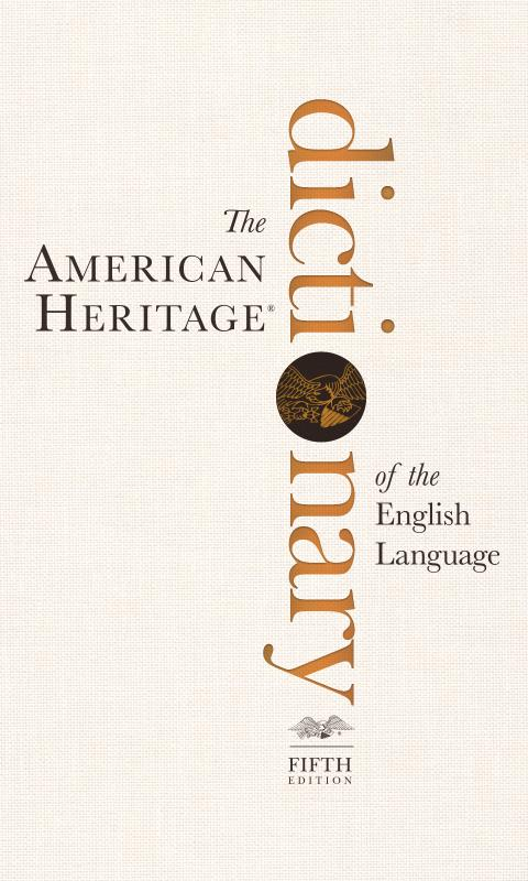 AmericanHeritage® Dictionary 5 - screenshot