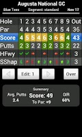 Screenshot of Skydroid - Golf GPS Scorecard