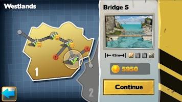 Screenshot of Bridge Constructor FREE