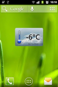 Widget meteo.bytom.pl screenshot 0