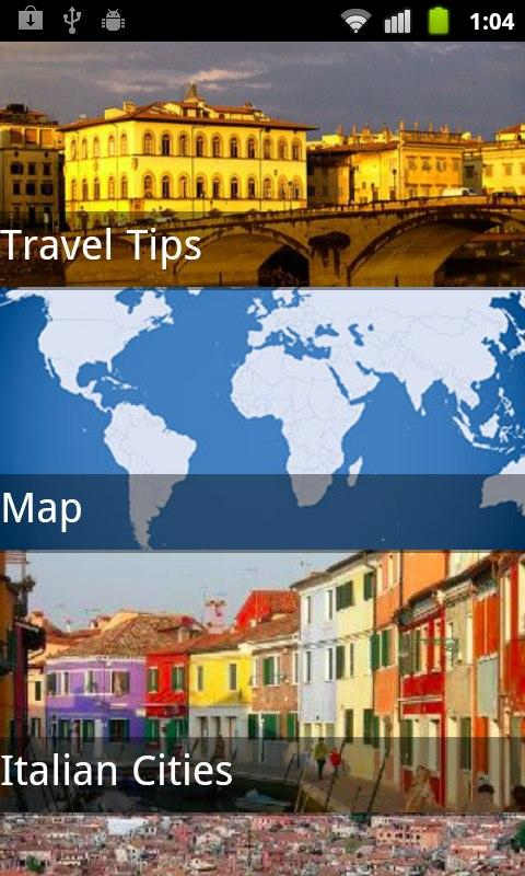Rome Travel Guide- screenshot