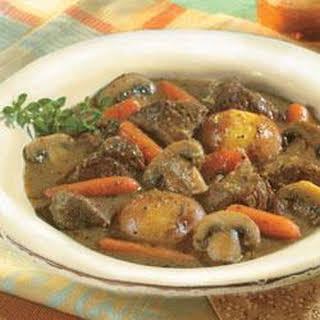 Herb-Simmered Beef Stew.