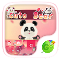 Cute Bear GO Keyboard Theme icon