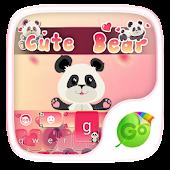 Cute Bear GO Keyboard Theme