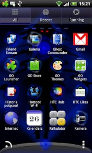 Go Launcher EX Theme Witch - screenshot thumbnail