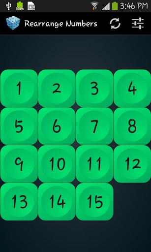 Rearrange Numbers