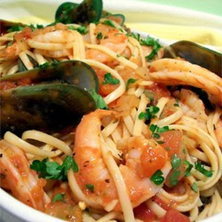 Garlic Seafood Marinara Recipes.