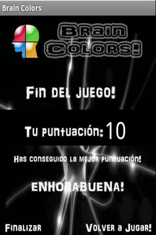 Brain Colors (Español) - screenshot