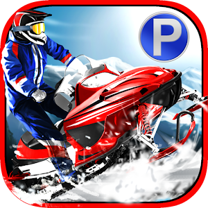 3D Snowmobile Parking & Racing for PC and MAC