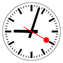 Swiss Railway Clock icon