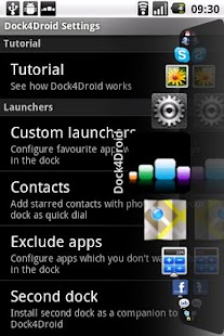Dock4Droid - screenshot thumbnail
