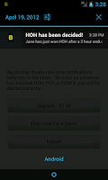 Screenshot of Big Brother 17 Buddy (US)