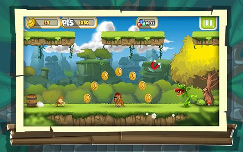 Koşu Oyunu - Maymun Oyunları Ekran Görüntüsü