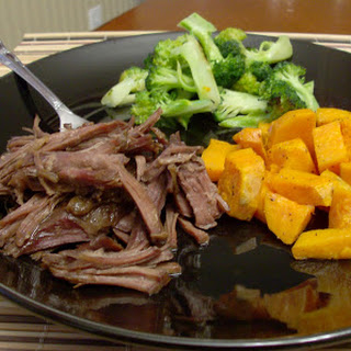 Slow Cooker Perfectly Shreddable, Tender and Moist Roast Beef in the Slow Cooker.