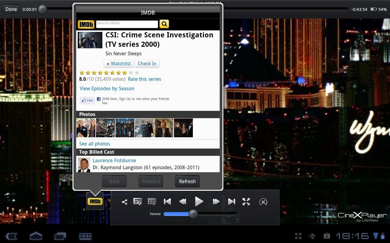 CineXPlayer -Best Xvid Player - screenshot