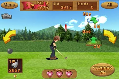 Cup! Cup! Golf 3D!- screenshot thumbnail