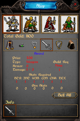 Dungeons of Orroth BETA - screenshot