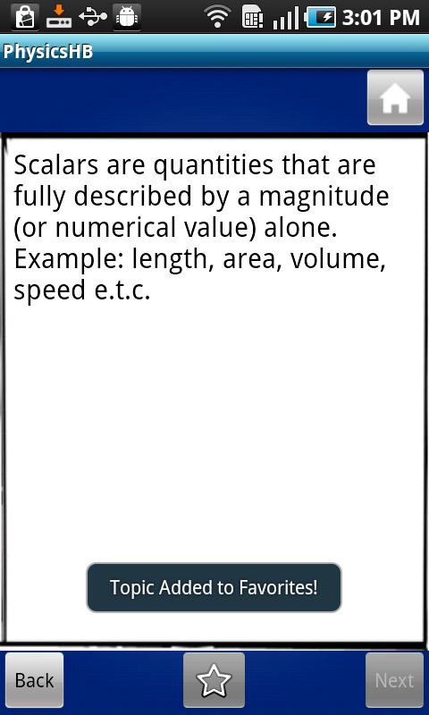 Physics Handbook- screenshot