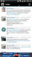 Screenshot of UCLA Football