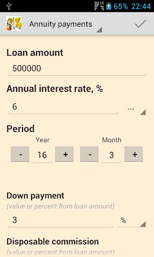 Financial Loan Calculators