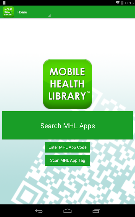 Mobile Health Library- screenshot