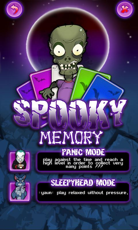 Spooky Memory Free - screenshot