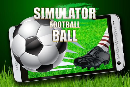 Simulator football ball