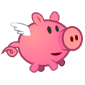 Pig on the wing icon