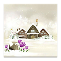 3D snow cartoon live Wallpaper icon